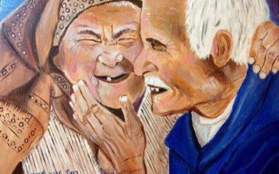 אין גיל לאהבה – ציור של רחל טוקר שיינס