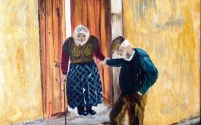 עזר כנגדה – ציור של רחל טוקר שיינס